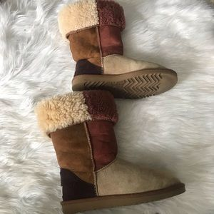 Classic Tall Ugg colorblock boots